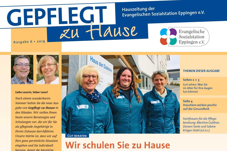 """""""Gepflegt zu Hause"""" Hauszeitung 2019-6"""