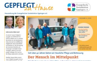 """""""Gepflegt zu Hause"""" Hauszeitung 2020-6"""